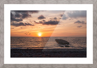 Goodnight from la Bloc Picture Frame print