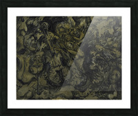 The Arts: Pareidolia Picture Frame print