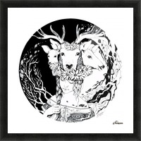 Charpatian Soul Picture Frame print