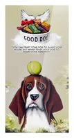 Beagle Quote Picture Frame print