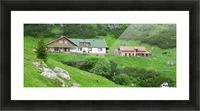 Malaiesti cabin in Romania Picture Frame print