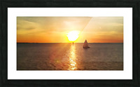 Pierce Anderson Sail Boats Art Picture Frame print