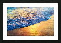 Manhattan Beach Water Picture Frame print
