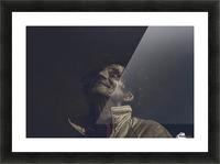 Gadafi Picture Frame print