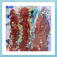 Rained Confetti  Picture Frame print