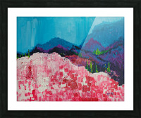 Blue Mountains Picture Frame print