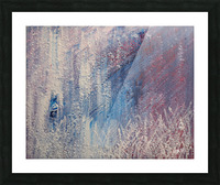 In a Hazy Place Picture Frame print