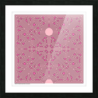 Maze 2823 Picture Frame print