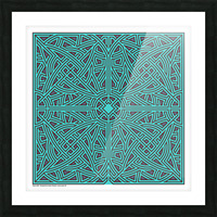 Maze 2896 Picture Frame print
