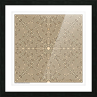 Maze 2888 Picture Frame print