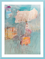 Circus Abstract No1 Picture Frame print