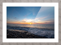 Washed by a Sunset Picture Frame print