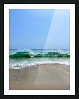 Crashing Waves - Malibu CA Picture Frame print