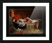 Just Finishing Reading A Novel by Delphin Enjolras Classical Art Xzendor7 Old Masters Reproductions Picture Frame print