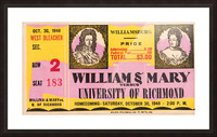 1948 William and Mary vs. Richmond Picture Frame print