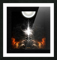 Isis Revealed Mystical Fractal Art Composition by Xzendor7 Picture Frame print