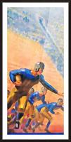 1932 Cal Bears Football Art Picture Frame print
