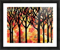 Fall In The Forest Picture Frame print
