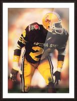 1988 Arizona State Football Art Picture Frame print