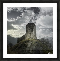 Medieval Picture Frame print