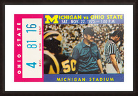 1975 Ohio State vs. Michigan Picture Frame print
