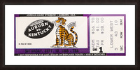 1988 Auburn Tigers vs. Kentucky Wildcats Picture Frame print