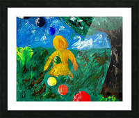 You Are Never Alone Picture Frame print