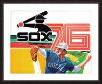 1976 Chicago White Sox Baseball Art Picture Frame print