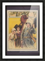 Vintage---French-Liberation Picture Frame print