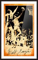 1976 New York Knicks Walt Frazier Art Picture Frame print