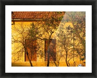 Autumn day in old town Varias Picture Frame print