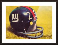 1969 New York Giants Vintage Football Helmet Photo Art Picture Frame print