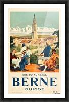 Bern, Switzerland Travel Poster Picture Frame print