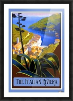 The Italian Riviera Picture Frame print