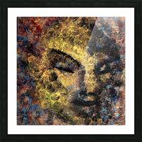 Emerging Buddha Picture Frame print