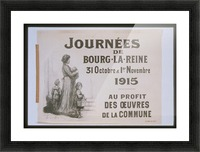 Vintage---Journey-in-France Picture Frame print