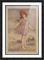 Vintage---Little-Girl Picture Frame print