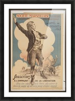 Vintage---Marseillaise-Society Picture Frame print