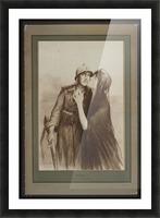 Vintage---Merci Picture Frame print