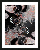 Significance & Abstraction Picture Frame print