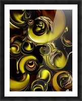 Mechanical Intensity Picture Frame print