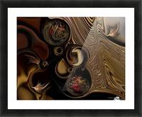 Information & Meditation Picture Frame print