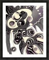 Perceptive Formation Picture Frame print