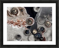 Meditative Metamorphosis Picture Frame print