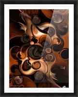Soft Metamorphosis Picture Frame print