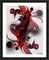 Unique Formation Picture Frame print