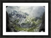 Alpine gates  Picture Frame print
