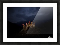 One to rule them all Picture Frame print