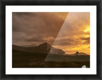 Middle earth Picture Frame print