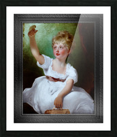 Princess Charlotte of Wales by Sir Thomas Lawrence Classical Fine Art Xzendor7 Old Masters Reproductions Picture Frame print